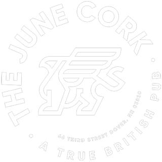 Logo of The June Cork Pub in Dover, NH