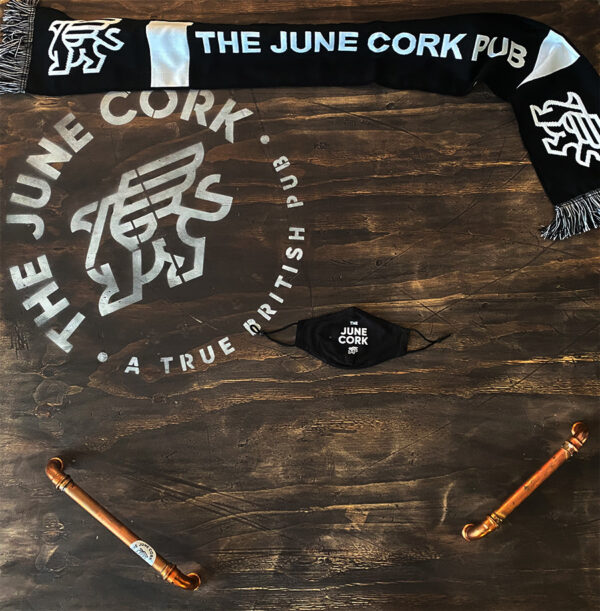 Black June Cork Pub Facemask